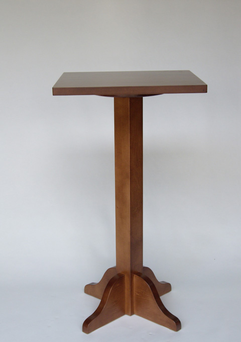 Foot high central table model