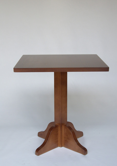 Foot central table model