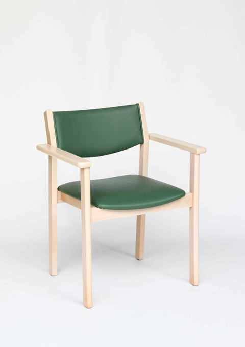 Stackable armchair model 21
