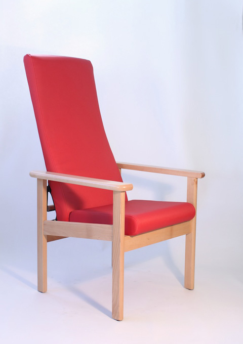 High armchair model 81